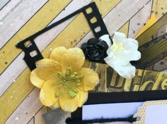 Yellow, Black and White Creative Happiness