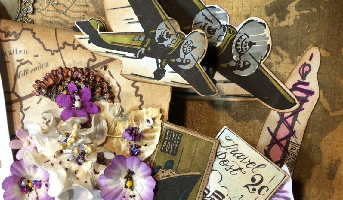 Digital Stamping with Hero Arts for A2Z Scrapbooking
